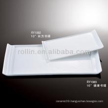 """nice10"""" white rectangular dish porcelain"""