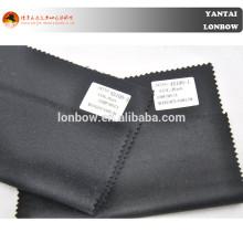 Casaco de cashmere puro preto e escuro da marinha para outono e inverno