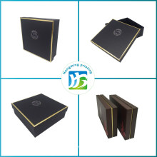 Luxury Gold Logo Paper Gift Box Packaging
