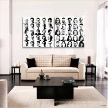 Wand-Kunst-dekorative Porträt-Malerei