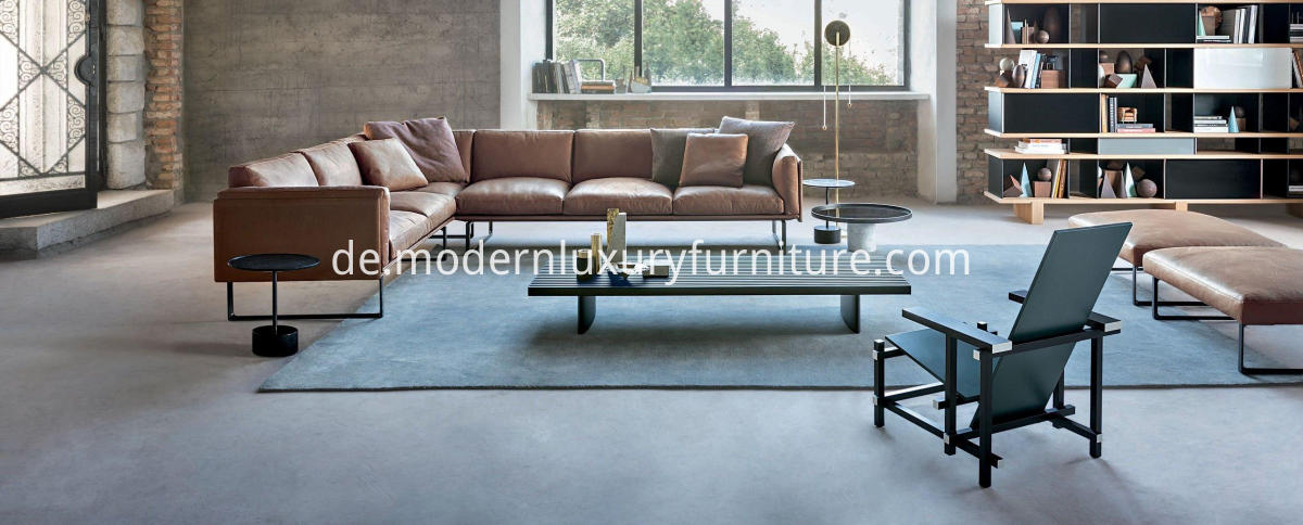 Classic OTTO Leather Sofa for living room