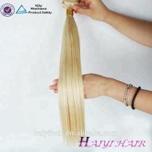 Human Hair Closure Virgin Brazilian 613 Hair Closure Piece Blonde Virgin Hair 3 Bundles With 4X4 Lace Closure