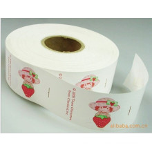 Printing Strawberry Wash Label for Care