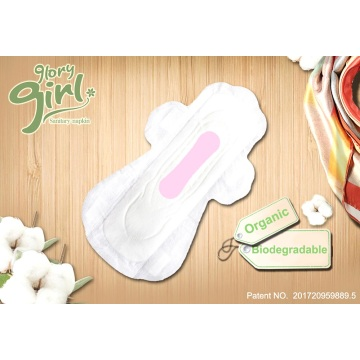 Disposable top natural menstrual pads