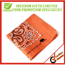 Fashion Design Cheap 100% Cotton Custom Bandana
