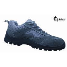 SRSAFETY 2015 промышленная защитная обувь замшевая кожа защитная обувь черная стальная защитная обувь полезная обувь