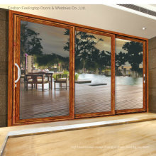 Aluminum Commercial Sliding Doors with Top Quality (FT-D120)