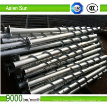 Ground Screw Piles for Solar Mounting System 5MW/Day