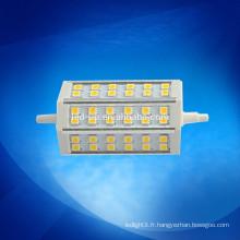 Luminaires haute lumière de 118mm r7s alimentés par des ampoules