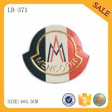 LB371 Этикетки с логотипом Pu для джинсовой наклейки