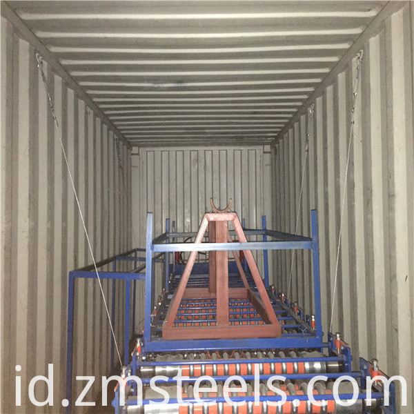 aluminum corrugated metal sheet roll former