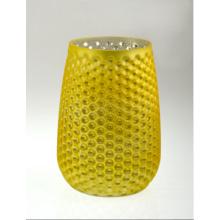 Желтый ананасовый подсвечник