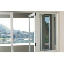 Алюминиевая дверь с закаленным стеклом