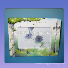 Hot selling ceramic home picture frame,ceramic couples picture frame