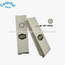Pochette de papier kraft mat refermable personnalisée avec sac d'emballage de café de valeur de goutte à goutte