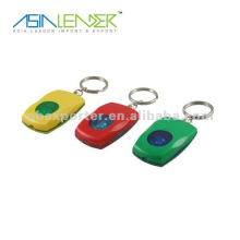 Llavero promocional LED luz micro llevó linterna keychain