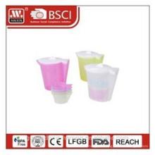 bouilloire en plastique 1,92 L avec 4 tasses (0,18 L)