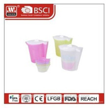 plastic water kettle 1.92L with 4 cups (0.18L)