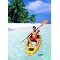 Único sentar-se na parte superior inferior Kayak transparente (VUE-2)