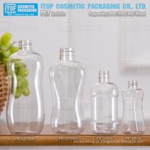 40ml 80ml 200ml e 300ml senhora forma bela e suave curva boa qualidade devenda ampla aplicação do animal de estimação a garrafa vazia