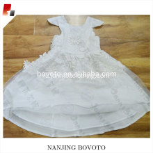 Baby party dress white lace princess dress
