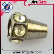 lock cord stopper with rhinestone