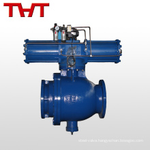 pn16 stainless steel pneumatic ceramic ball valve