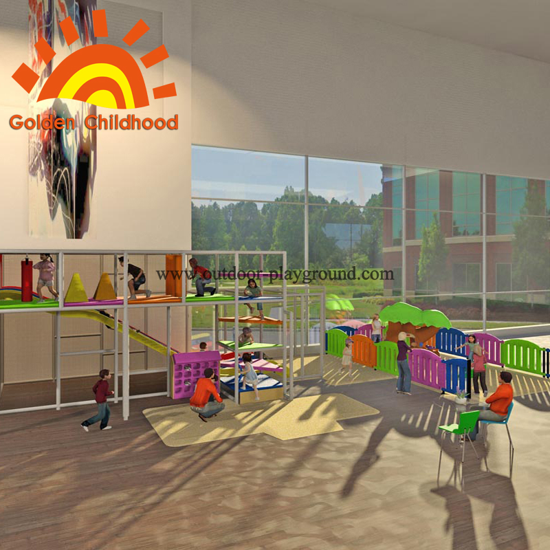indoor play centre structure equipment