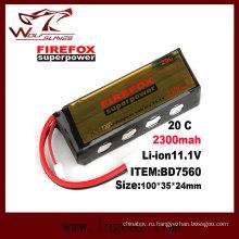 2300mAh Firefox 11.1V Lipo Li-Po литийно полимерная батарея 20 c сверхдержавы