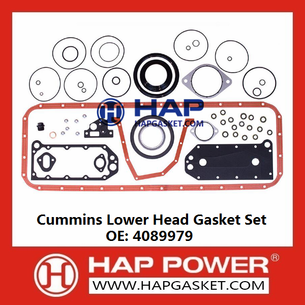 CUMMINS Lower Head Gasket Set 4089979