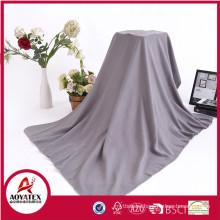 super soft promotion knitted polar fleece blanket fabric