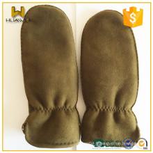 Gants de coutures en cuir importés à la fine pointe de la couture