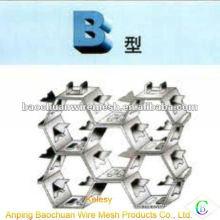 Alambre de acero inoxidable 316L B tipo termoestable Tortoise Shell Mesh (Fábrica)