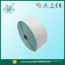 Etiqueta térmica direta, adesivos adesivos, rolos de etiquetas para embalagens cortadas