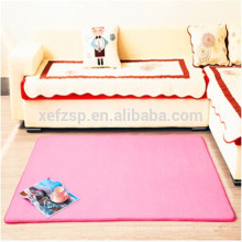 coral microfiber polyester baby cutting folding mat