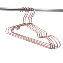 Aluminium Metal Top Clothes Hanger Copper Finishing Brass Gold Workable