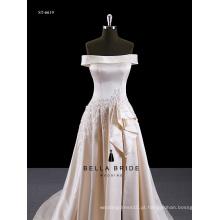 Fotos reais Appliqued Hot Sale Wedding Dress 2016 Bridal Gowns