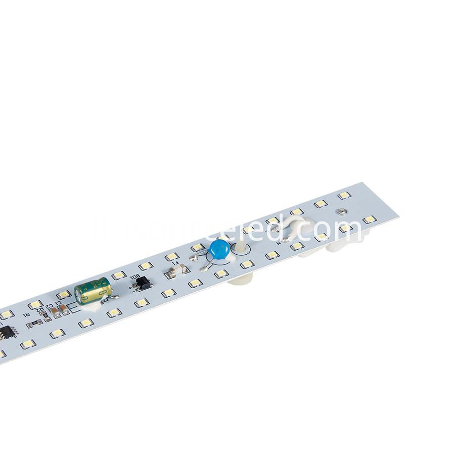 Front view of ac linear GF09520MM Dimming 9W Aluminum Base PCB