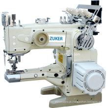 Zuker Feed o braço automático Thread corte Interlock máquina de costura Direct Drive (D de ZK-1500-156)
