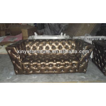 Bar club leather chesterfield sofa XY0160