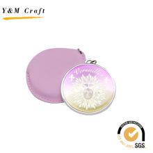 Топ Продажа круглой формы розовый PU зеркала с эпоксидной Доминга