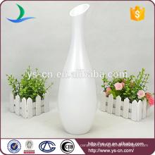 New modern white matt ceramic vases for wedding decor