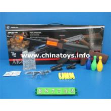 Pistola de juguetes de plástico baratos con bala de agua, bala suave (887743)