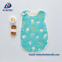 100% cotton Six-layer gauze newborn baby anti kick quilt sleeping bag