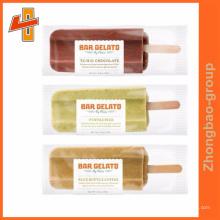 Aceitar ordem personalizada Popsicle / gelado e gelato embalagem saco bolsa