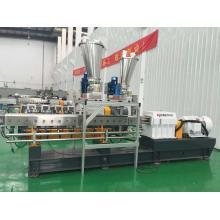 300 ~ 800kg / h PBT / POM fiber reinforcing assurance extrudeuse à double vis à vendre