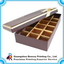 Hot Sale Custom Fancy Chocolate Bonbons Box Wood