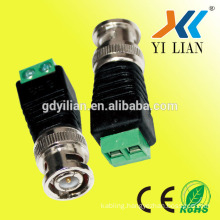 JR cctv male bnc connector monitor to screw terminal