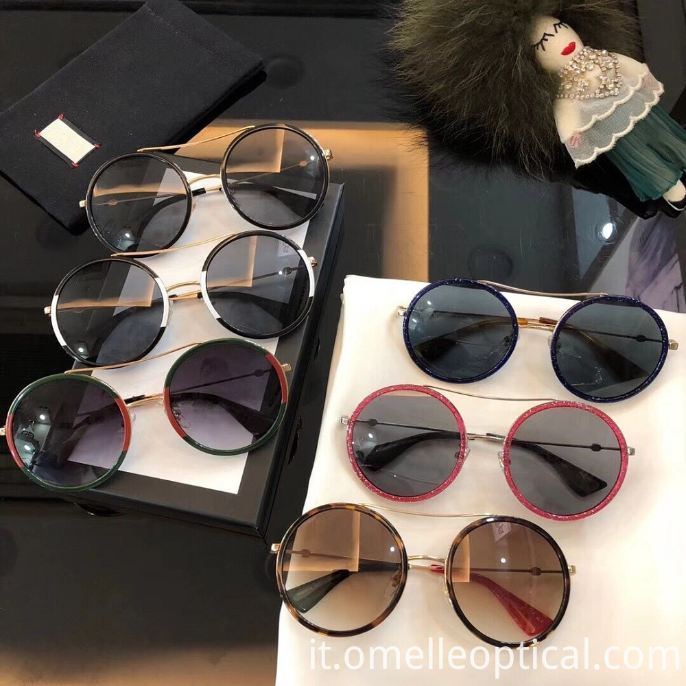 Quality Round Sunglasses