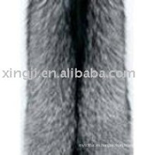 Piel de zorro plateado de calidad superior del proveedor de China